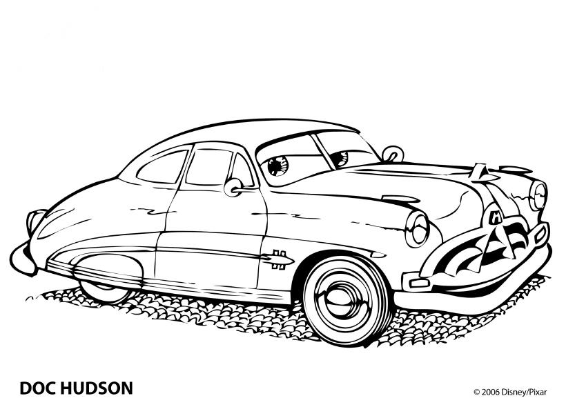 Cars Kleurplaten - DisneyKleurplaten.com