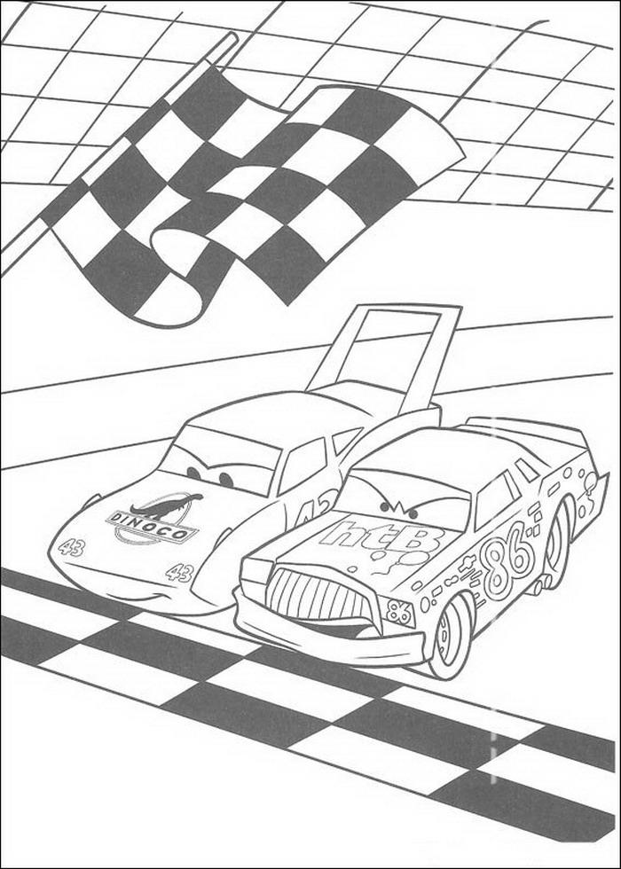 Cars Kleurplaten Om Uit Te Printen.Cars Kleurplaten Disneykleurplaten Com