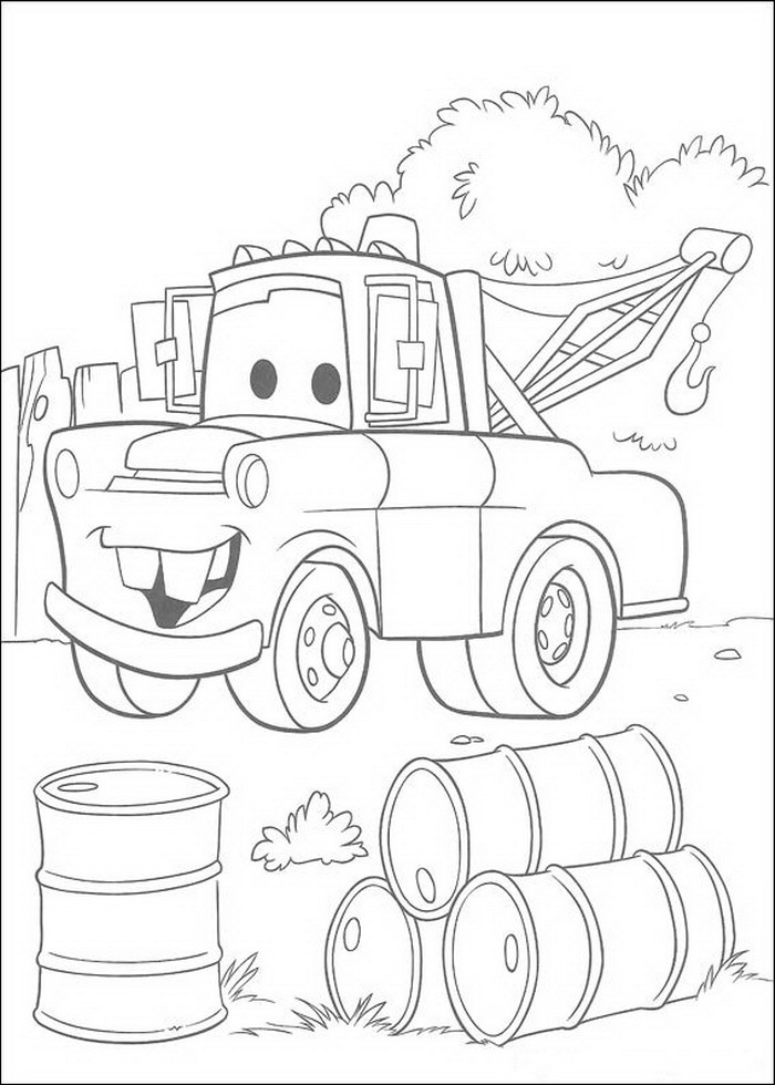car garage coloring pages - photo#42